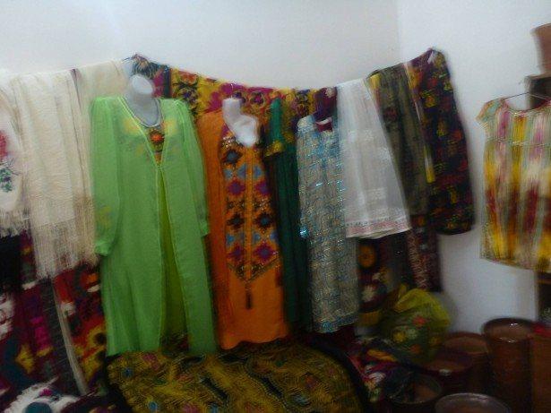 Souvenirs at Hisor Fort
