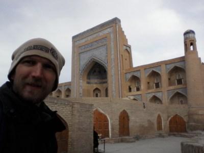 Touring the sights of Khiva in Uzbekistan
