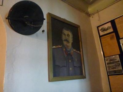 Stalin in the Khorog Regional Museum