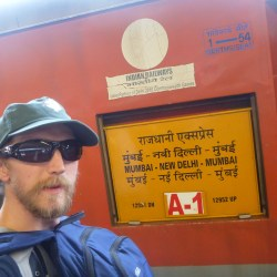 Backpacking in India: Getting A Night Train from New Delhi to Mumbai
