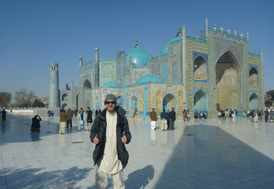 Backpacking in Afghanistan: Visiting Hazrat Ali's Tomb and Blue Mosque in Masar e Sharif