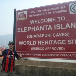 Backpacking in India: Touring the UNESCO World Heritage Site at Elephanta Island