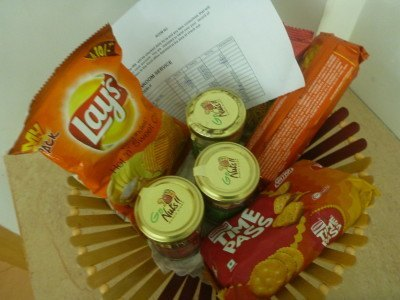 Snacks for purchase