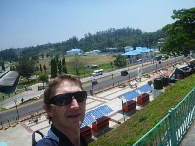 Watchign cricket for free at Netaji Cricket Stadium