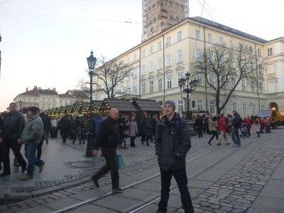 Backpacking in Lviv