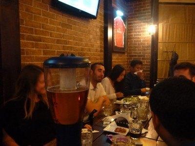 Good banter in Pinta Pub