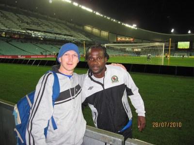 The night I met Blackburn Rovers and Senegal player El Hadji Diouf