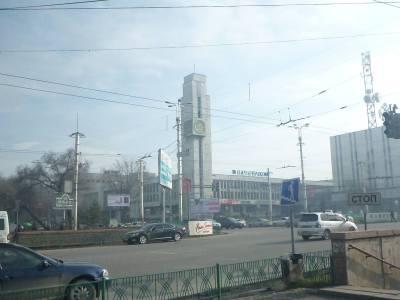 The Clock Tower in Bishkek, Kyrgyzstan