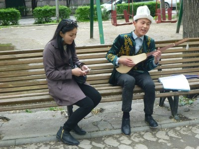 Live music at Erkindik Park