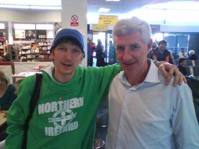 With 1986 World Cup player Nigel Worthington