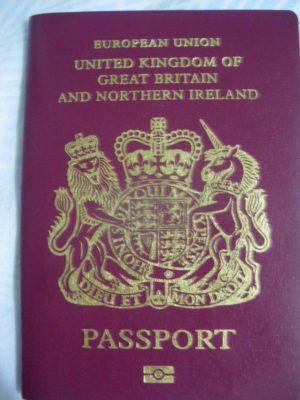 My British passport