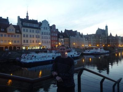 Touring the old town - just across the bridge from Hostel Cycle On