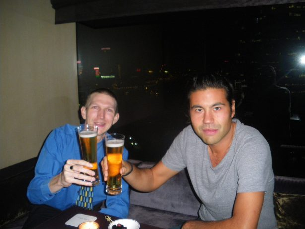 Reunion with Lucan Toh in Hong Kong in 2011