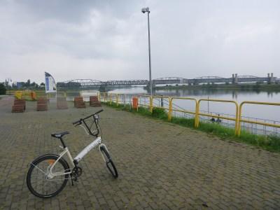 Cycling by the Bridge Where World War II Began (Mosty Tczewskie)