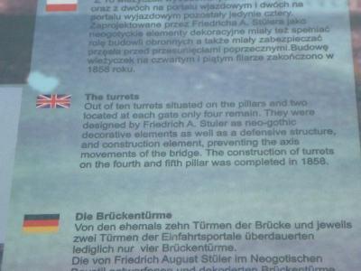 Information by the Bridge Where World War II Began (Mosty Tczewskie)