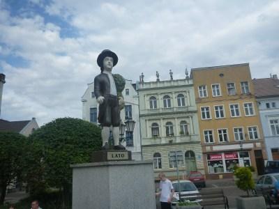 Lato - Summer man at Plac Hallera
