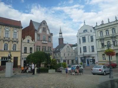 Backpacking in Tczew, Poland