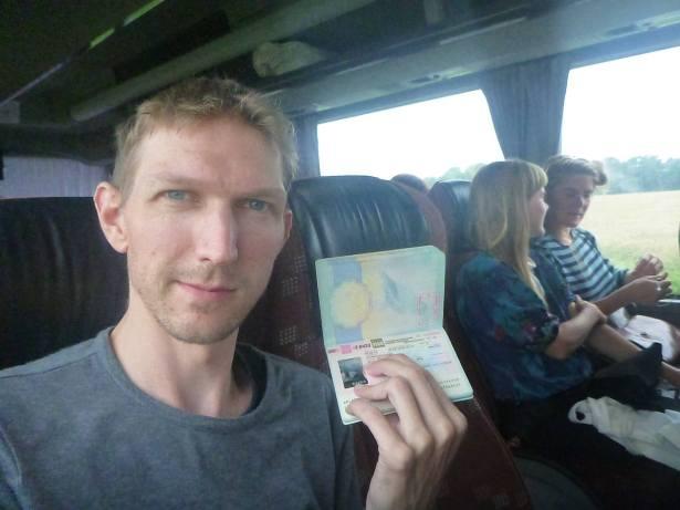 Arrival in Kaliningrad, August 2016 - veteran visa expert.