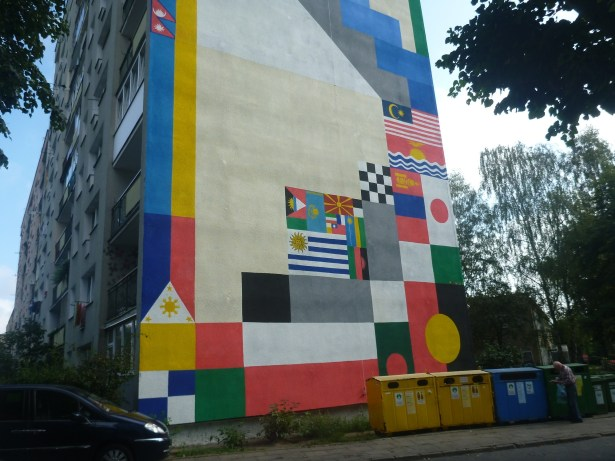 Touring the Artistic Walls Murals in the District of Zaspa, Gdańsk, Poland