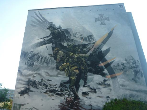 Touring the Artistic Wall Murals in the District of Zaspa, Gdańsk, Poland