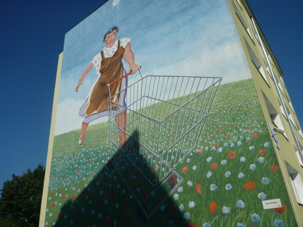 Murals in Zaspa, Gdansk