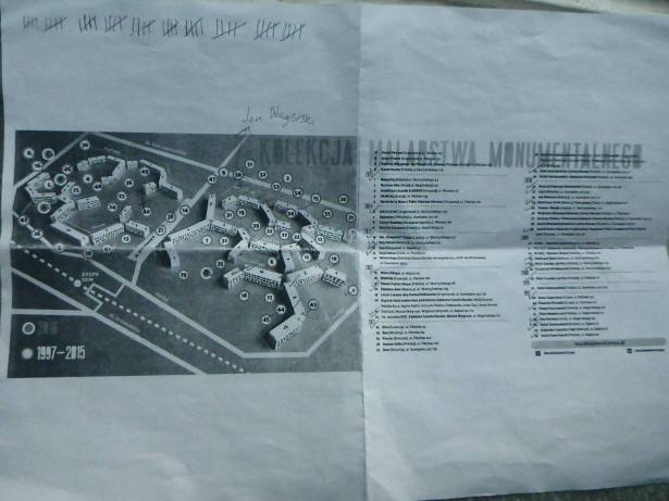 Our map of the murals of Zaspa - printed from the website