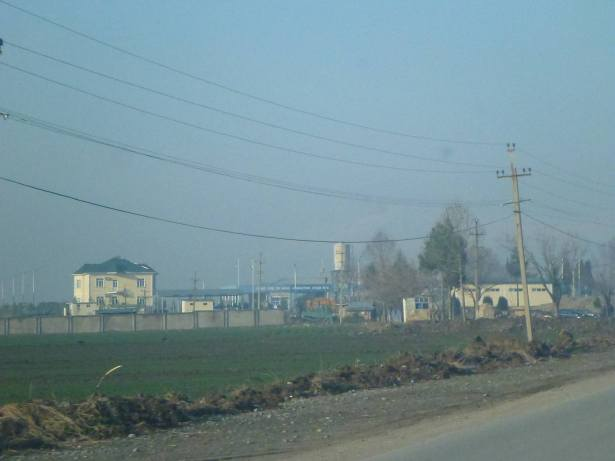 Just past Turzonzoda - exit point for Tajikistan