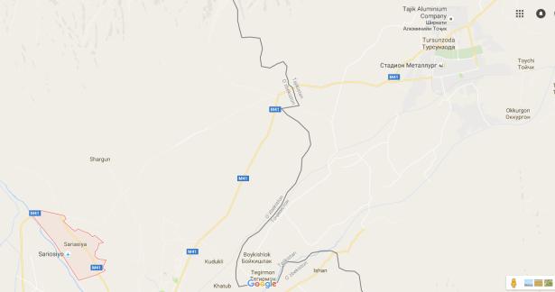 uzbekistan to Tajikistan border
