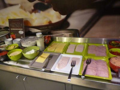 Breakfast Buffet at the Ibis Hotel Warszawa Centrum