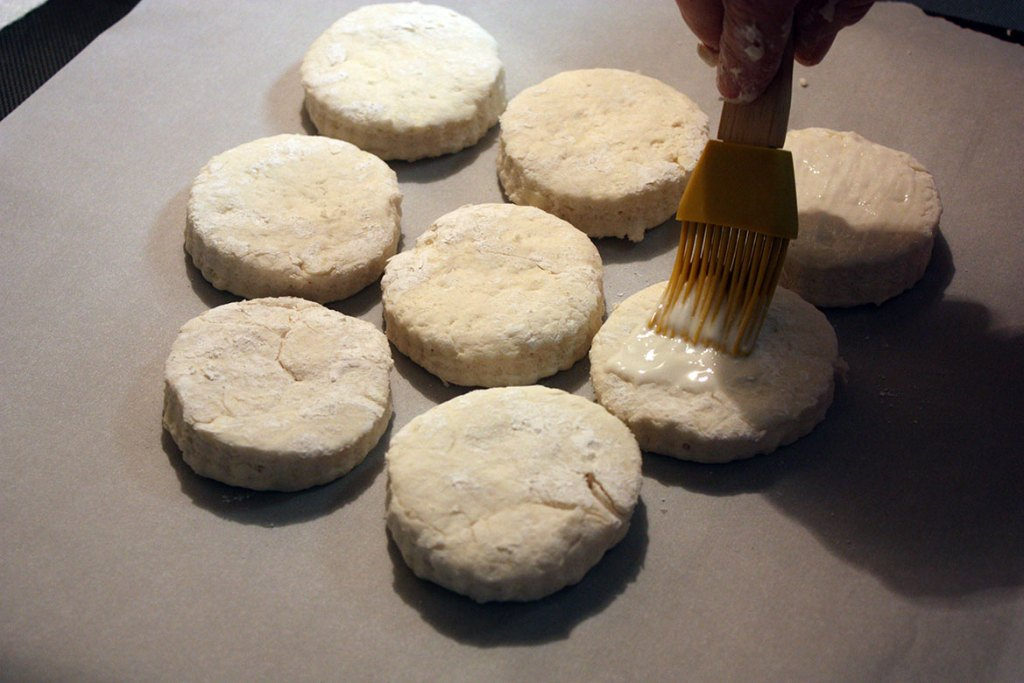 The Best Homemade Biscuits - Light, flaky, tender buttermilk biscuit ever time!