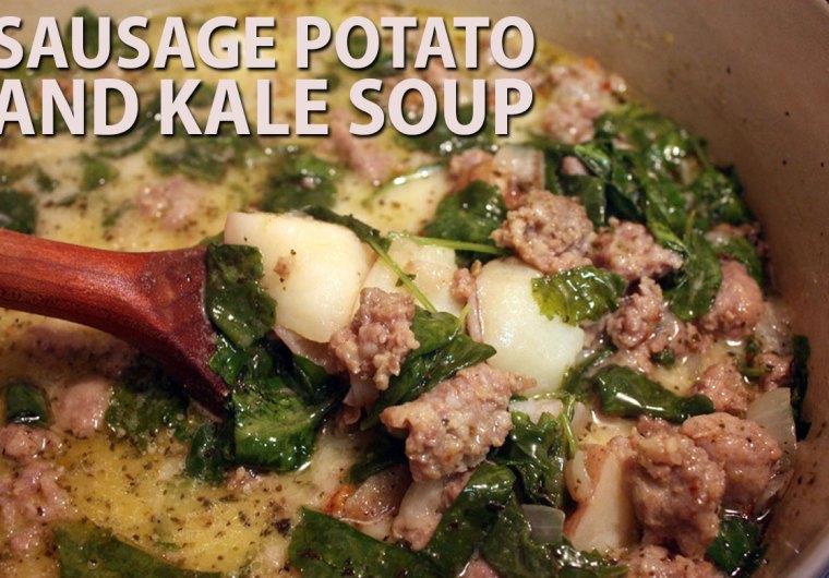 Sausage Potato and Kale Soup - Don't Sweat The Recipe