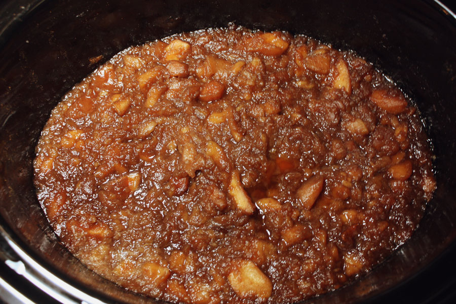 Slow Cooker Apple Butter - by Don't Sweat The Recipe