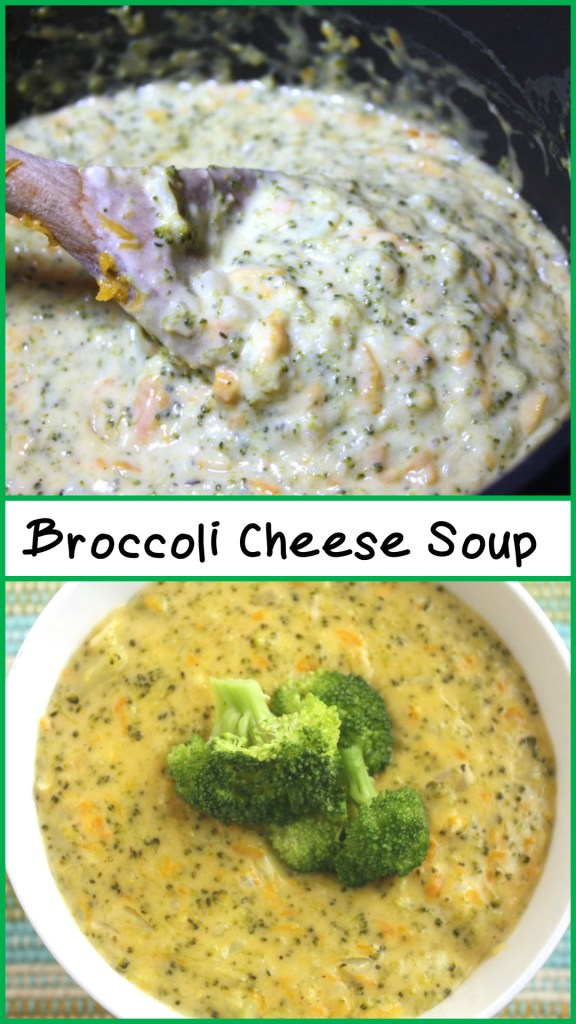 Broccoli Cheese Soup - So easy to prepare and so full of cheesy broccoli flavor. - by Don't Sweat The Recipe