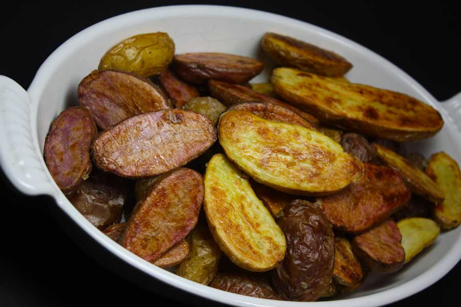 Roasted Fingerling Potatoes - by Don't Sweat The Recipe
