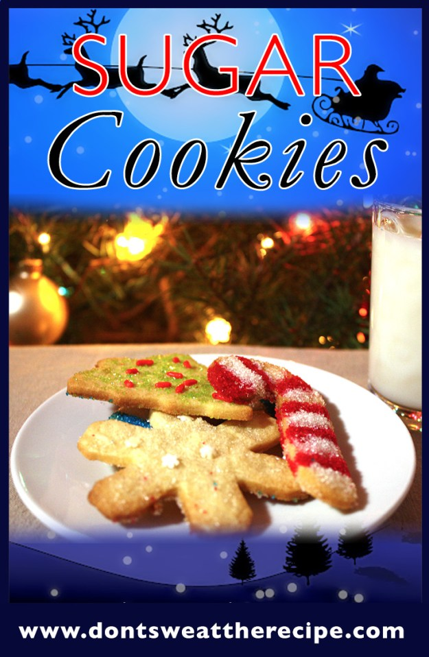 Sugar Cookies - This is the only recipe you will ever need. Buttery, tender sugar cookies. by Don't Sweat The Recipe