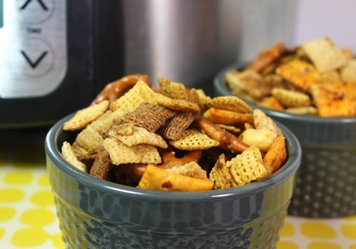 Slow Cooker Chex Mix - You are warned! This is way too easy to whip up and have readily available!