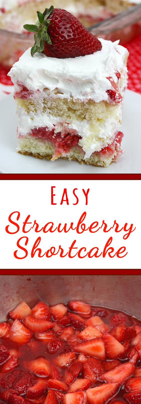 Easy Strawberry Shortbread Recipe