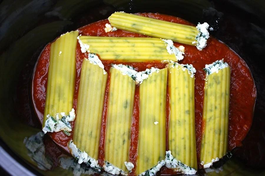 Manicotti Filling Recipe Easy