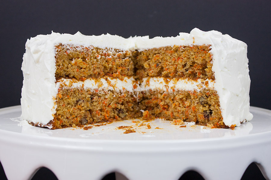Best Homemade Carrot Cake - Look no further! Moist, tender, perfectly spiced with a whipped cream cheese frosting.
