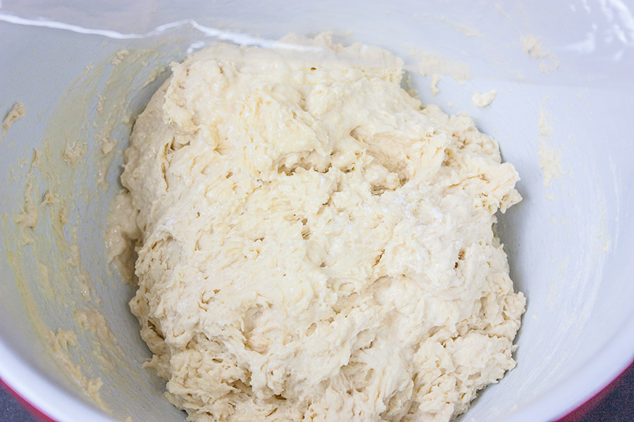 No Knead Skillet Bread - Comes together in minutes! Yes, you CAN have warm, crusty homemade bread for dinner tonight!