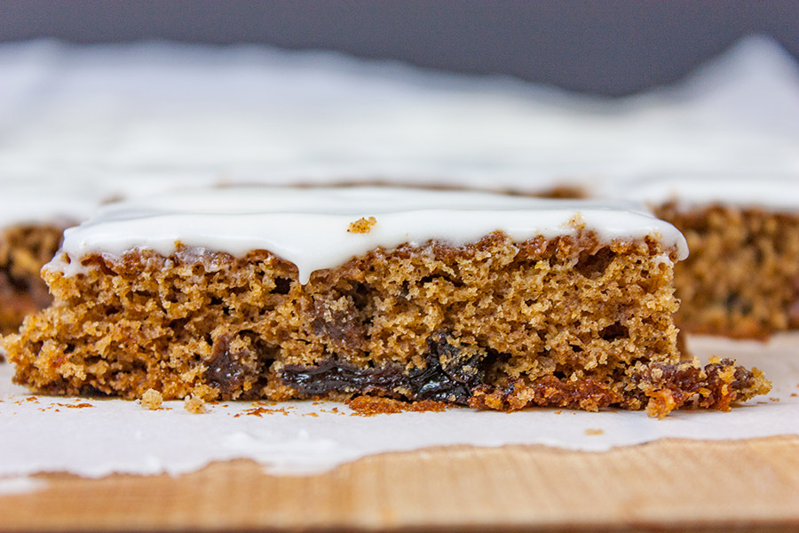 Old Fashioned Raisin Bars Recipe Clipping « m 80