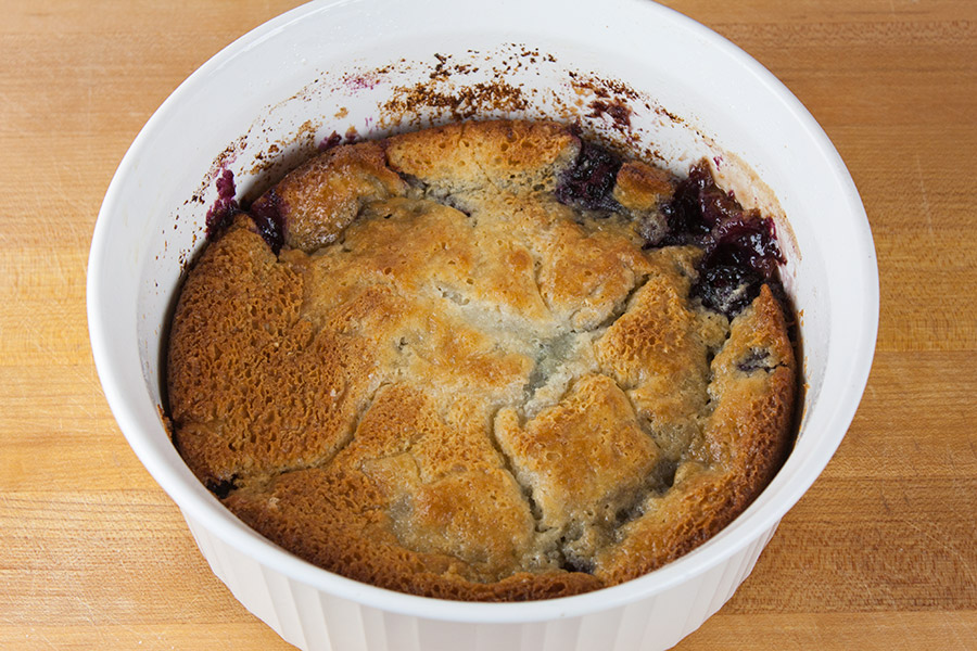 Easy Blackberry Cobbler - It's simple, quick and delicious! A Dump and bake recipe at it's best.