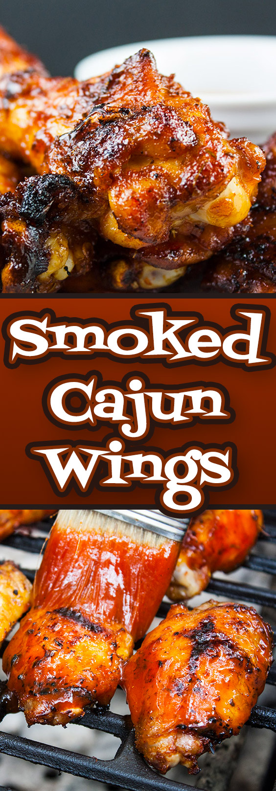 Smoked Cajun Wings - These barbecued wings have a spicy Cajun rub meeting up with some sweet Pecan wood smoke, then finished off with an aromatic hot sauce. They are deliciously smokey and spicy with a slight sticky sweet sauce that brings it all together in the most incredible wing you will ever have.
