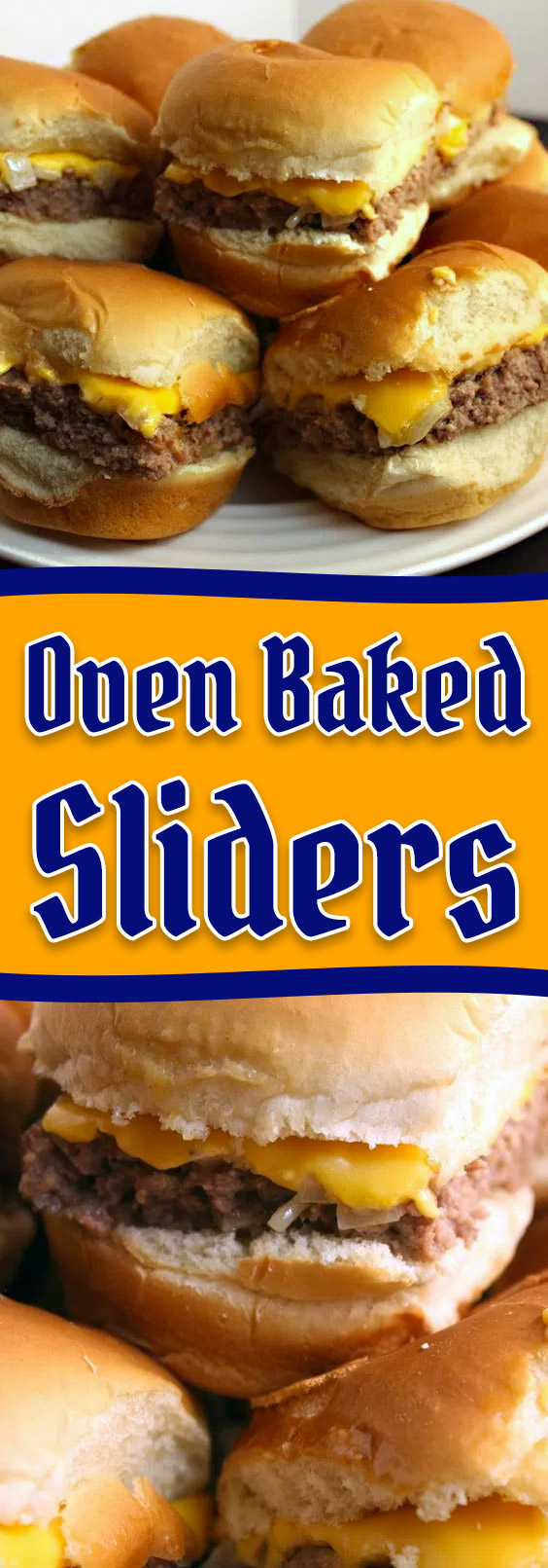 Oven Baked Sliders -These taste just like Krystal's or White Castle hamburgers. Super easy to make! #party #gameday