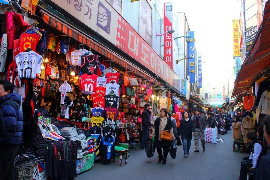du lịch tự túc Hàn Quốc