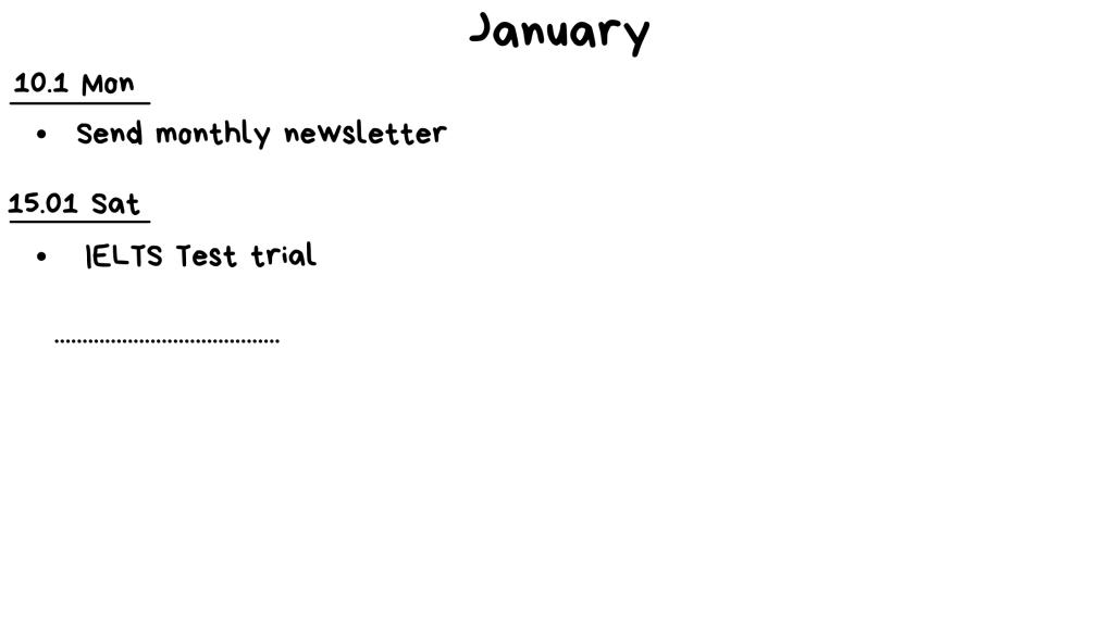 ý tưởng cho Bullet Journal