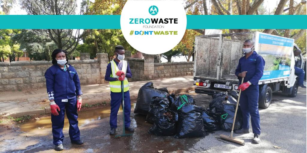 Zero Waste Foundation Clean Up Teams South Africa
