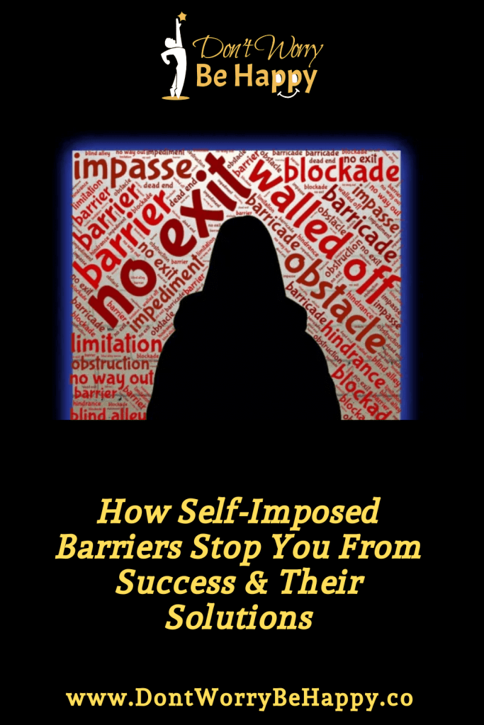 Self-imposed Barriers