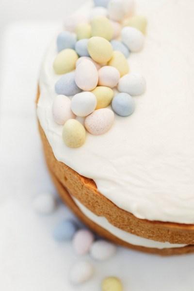 Vanilla Easter Cake