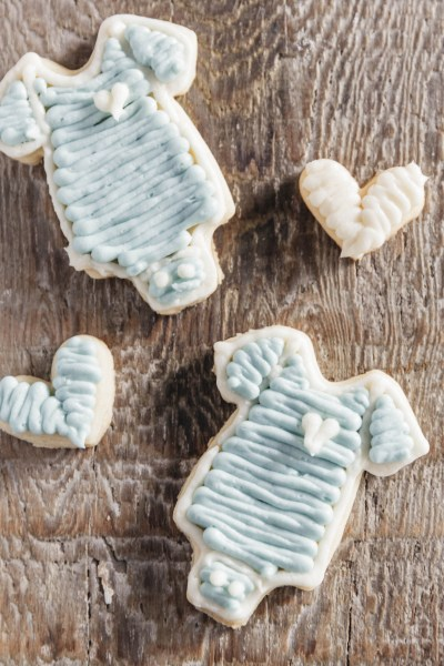 Baby Boy Sugar Cookies